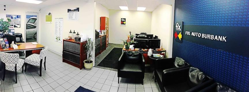 Our Office at Fix Auto Burbank auto body shop - 120 E Verdugo Ave in Burbank, CA