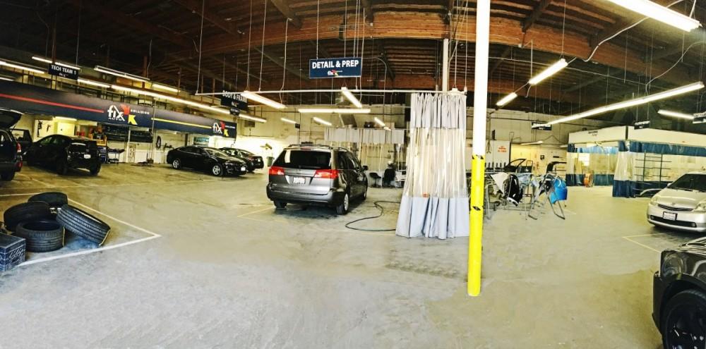 Auto Body Repair at Fix Auto Burbank auto body shop - 120 E Verdugo Ave in Burbank, CA