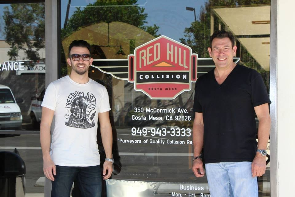 Red Hill Collision 350 Mccormick Ave Costa Mesa, CA 92626  YEARS OF EXPERIENCE AWAITS YOU AND YOUR DAMAGED VEHICLE .....