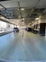 Service drive at Patrick Auto Body & Collision in Schaumburg, IL