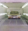 A professional refinished collision repair requires a professional spray booth like what we have here at Virgil's Auto Body in Thousand Oaks, CA, 91320-2119.