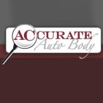 Accurate Auto Body Richmond CA 94806 Logo. Accurate Auto Body Auto body and paint. Richmond CA collision repair, body shop.