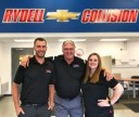 Friendly faces and experienced staff members at Rydell Chevrolet Collision Center, in Waterloo, IA, 50704, are always here to assist you with your collision repair needs.
