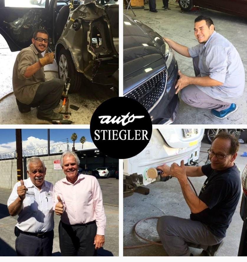 Friendly faces and experienced staff members at Auto Stiegler Service And Repair , in Reseda, CA, 91335, are always here to assist you with your collision repair needs.