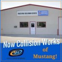 We are centrally located at Mustang, OK, 73064 for our guest's convenience and are ready to assist you with your collision repair needs.