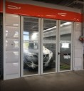 A professional refinished collision repair requires a professional spray booth like what we have here at Collision Works Of Central Edmond in Edmond, OK, 73012.