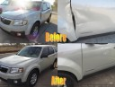 At Collision Works Of Tulsa Hills, we are proud to post before and after collision repair photos for our guests to view.