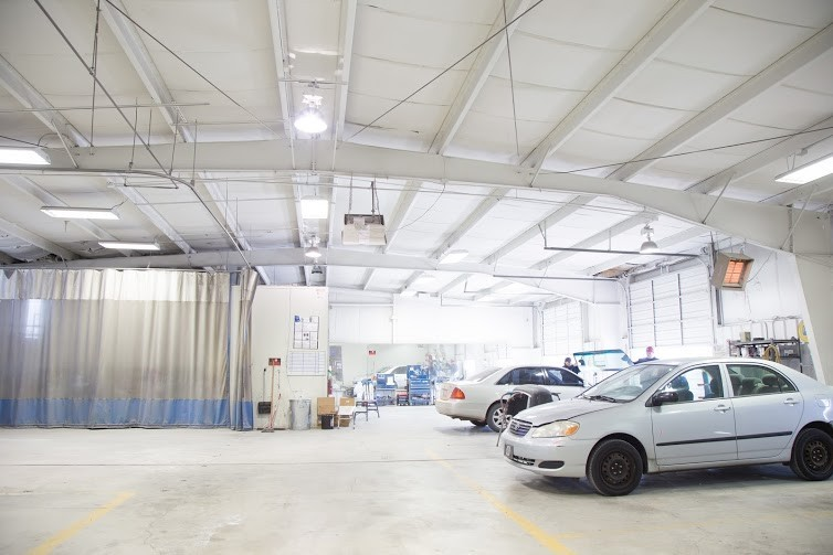 At Collision Works - Shawnee, in Shawnee, OK, 74804, we are equipped with a certified aluminum welding room.
