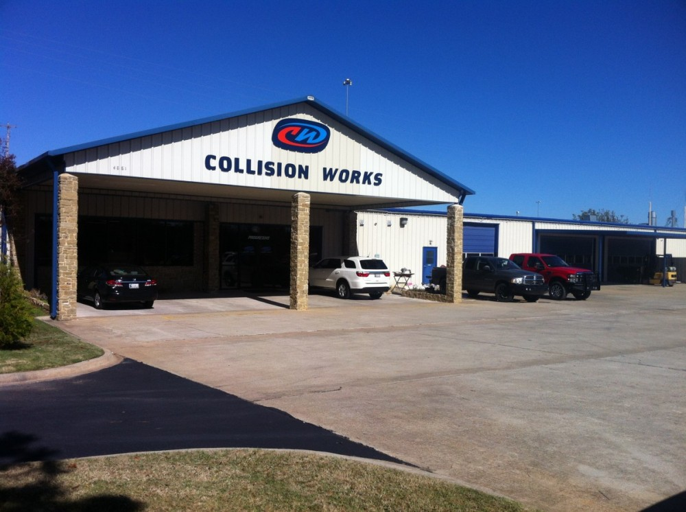 Come stop by Collision Works - Shawnee for an estimate!