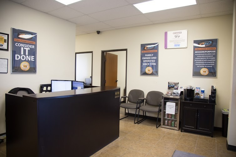 Our body shop's business office located at Oklahoma City, OK, 73114 is staffed with friendly and experienced personnel.