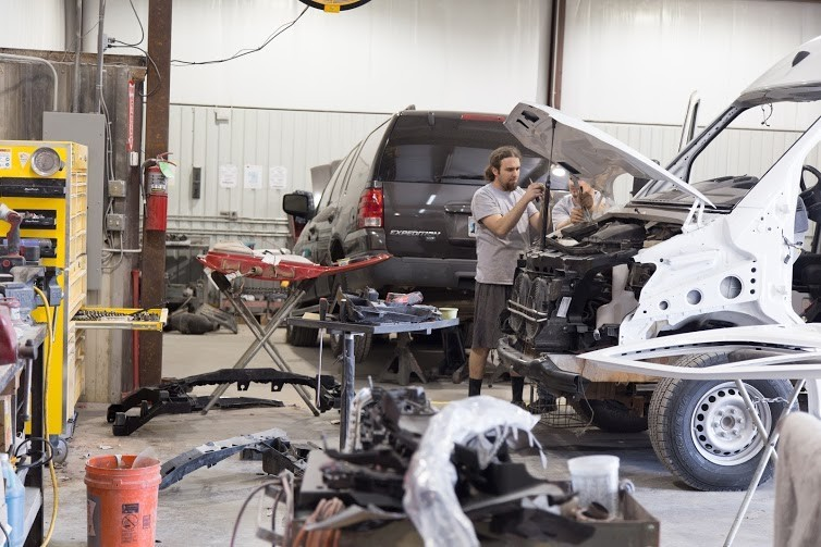 Here at Collision Works - Newcastle, Newcastle, OK, 73065, our body technicians are craftsmen in the art of collision repair.