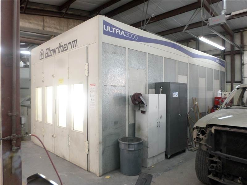 A neat and clean and professional refinishing department is located at Collision Works - Newcastle, Newcastle, OK, 73065