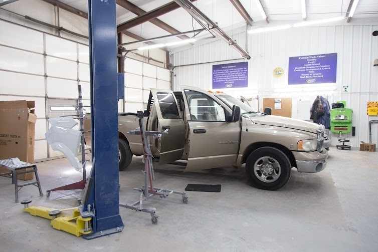 We are a state of the art Collision Repair Facility waiting to serve you, located at Newcastle, OK, 73065