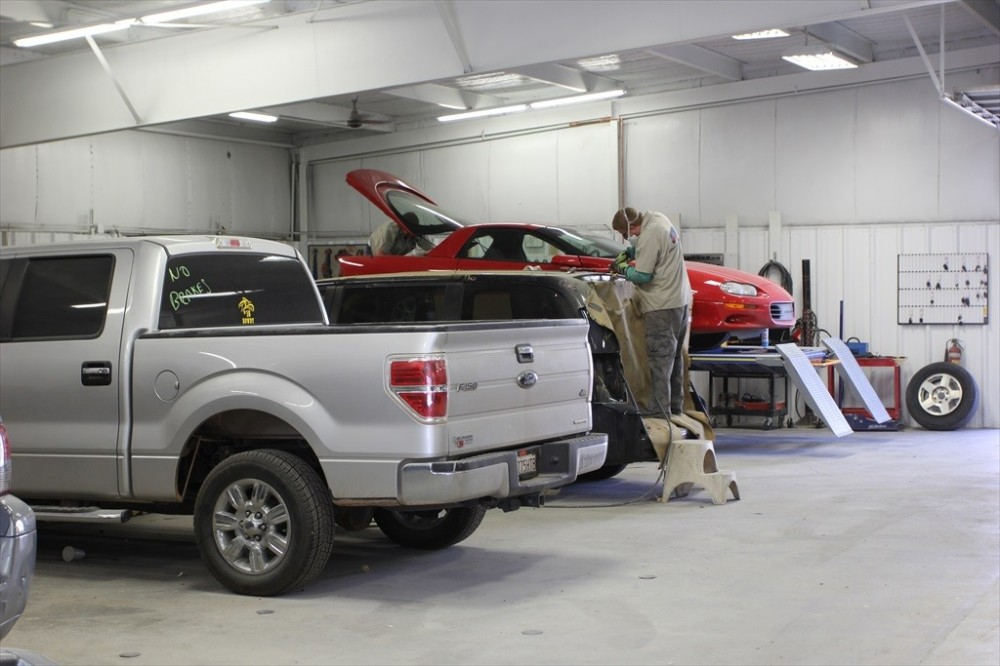 Collision Works - Norman 531 Highland Parkway  Norman, OK 73069 Auto Body and Painting Professionals.  Collision Repairs. Our Skilled and Highly Trained Technicians can Handle All Sorts of Collision Situations...