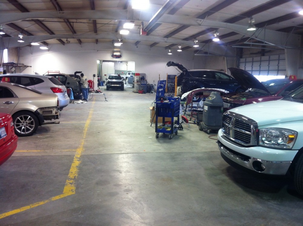 At Collision Works - Shawnee, every completed vehicle is personally delivered back to the guest with a complete explanation of the repairs.  Questions are welcomed and addressed to make sure our guest is completely satisfied.