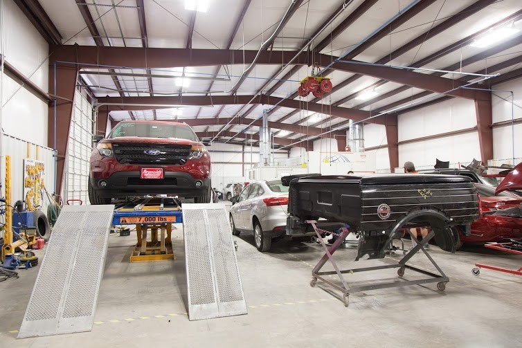 Structural repairs done at Collision Works - Edmond are exact and perfect, resulting in a safe and high quality collision repair.