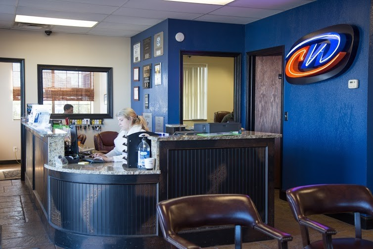 Our body shop's business office located at Del City, OK, 73115 is staffed with friendly and experienced personnel.