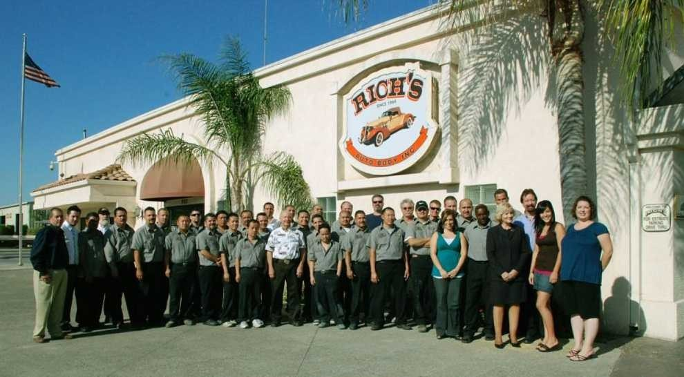 Friendly faces and experienced staff members at Rich's Auto Body, in Merced, CA, 95341, are always here to assist you with your collision repair needs.
