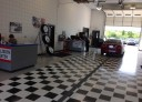 Accurate alignments are the conclusion to a safe and high quality repair done at Coyle Chevrolet Collision, Clarksville, IN, 47129
