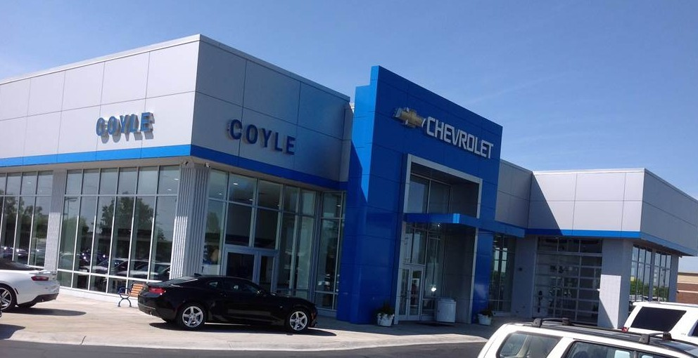 At Coyle Chevrolet Collision, you will easily find us located at Clarksville, IN, 47129. Rain or shine, we are here to serve YOU!