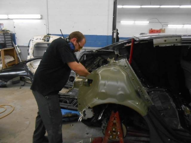 Here at Clinton Auto Body, Clinton, MD, 20735, our body technicians are craftsmen in the art of metal straightening.
