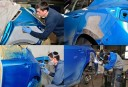 Painting technicians are trained and skilled artists.  At Sabo Auto Body, we have the best in the industry. For high quality collision repair refinishing, look no farther than, Seymour, CT, 06483.