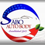 Sabo Auto Body Seymour CT 06483 Logo. Sabo Auto Body Auto body and paint. Seymour CT collision repair, body shop.