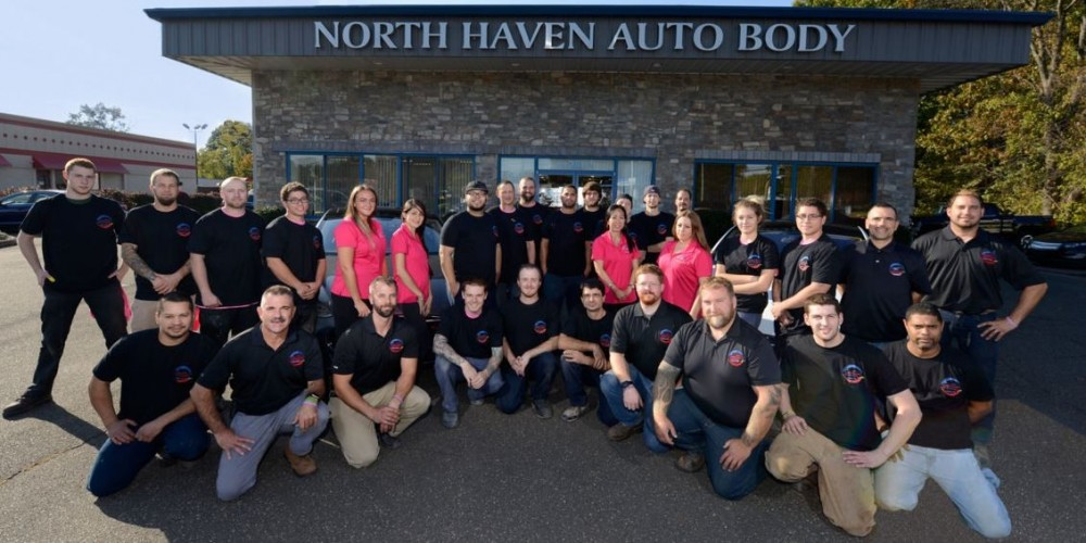 Friendly faces and experienced staff members at North Haven Autobody, in North Haven, CT, 06473, are always here to assist you with your collision repair needs.