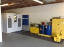 A neat and clean and professional refinishing department is located at Arizona Collision Center, Tempe, AZ, 85281