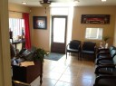 The waiting area at our body shop, located at Tempe, AZ, 85281 is a comfortable and inviting place for our guests.