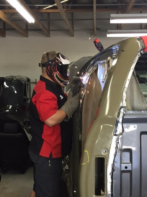 All of our body technicians at Arizona Collision Center, Tempe, AZ, 85281, are skilled and certified welders.