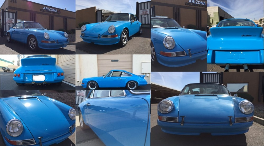 1975 Porsche Restoration and Custom Fabrication done at Arizona Collision Center.