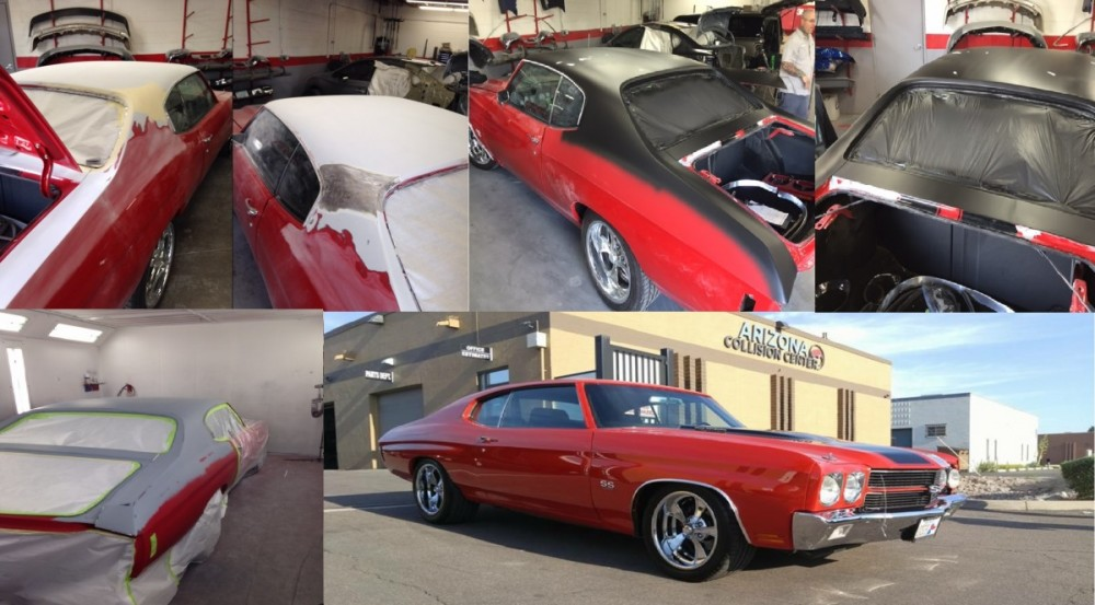 Here is an example of a Chevelle restoration done by Arizona Collision Center.