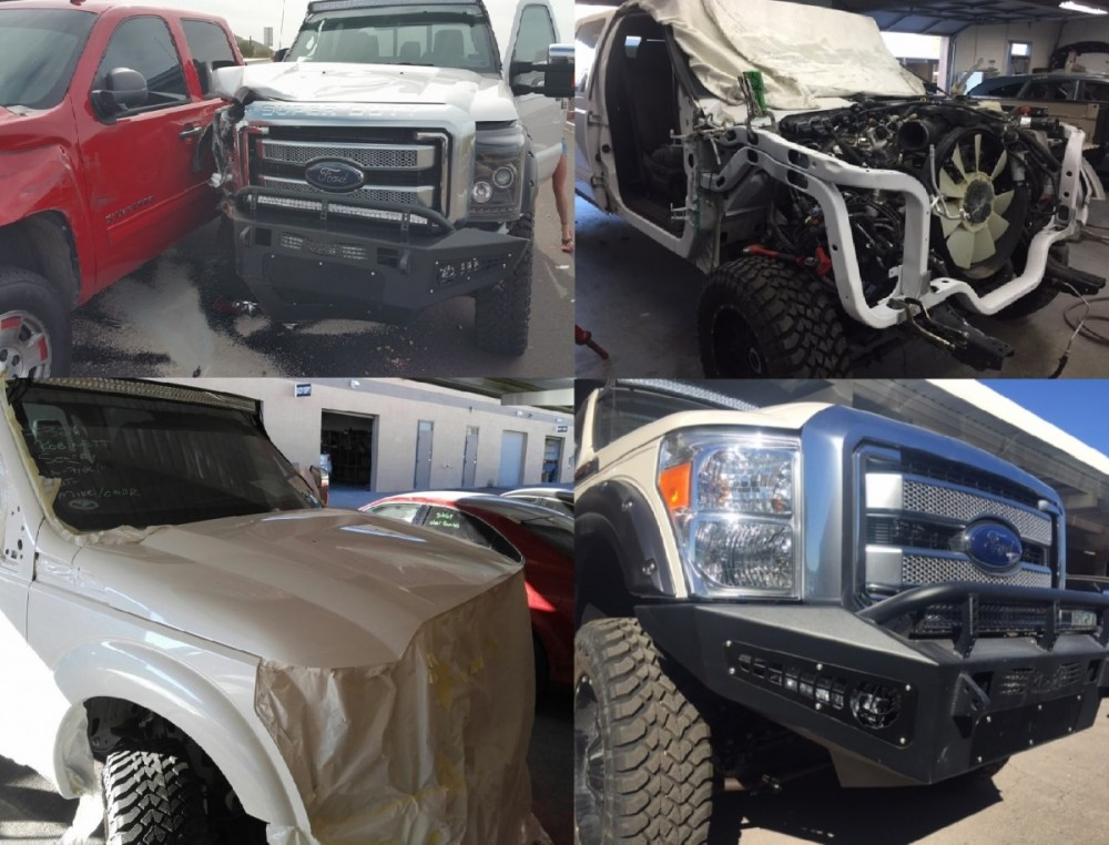 At Arizona Collision Center, we are proud to post before and after collision repair photos for our guests to view.