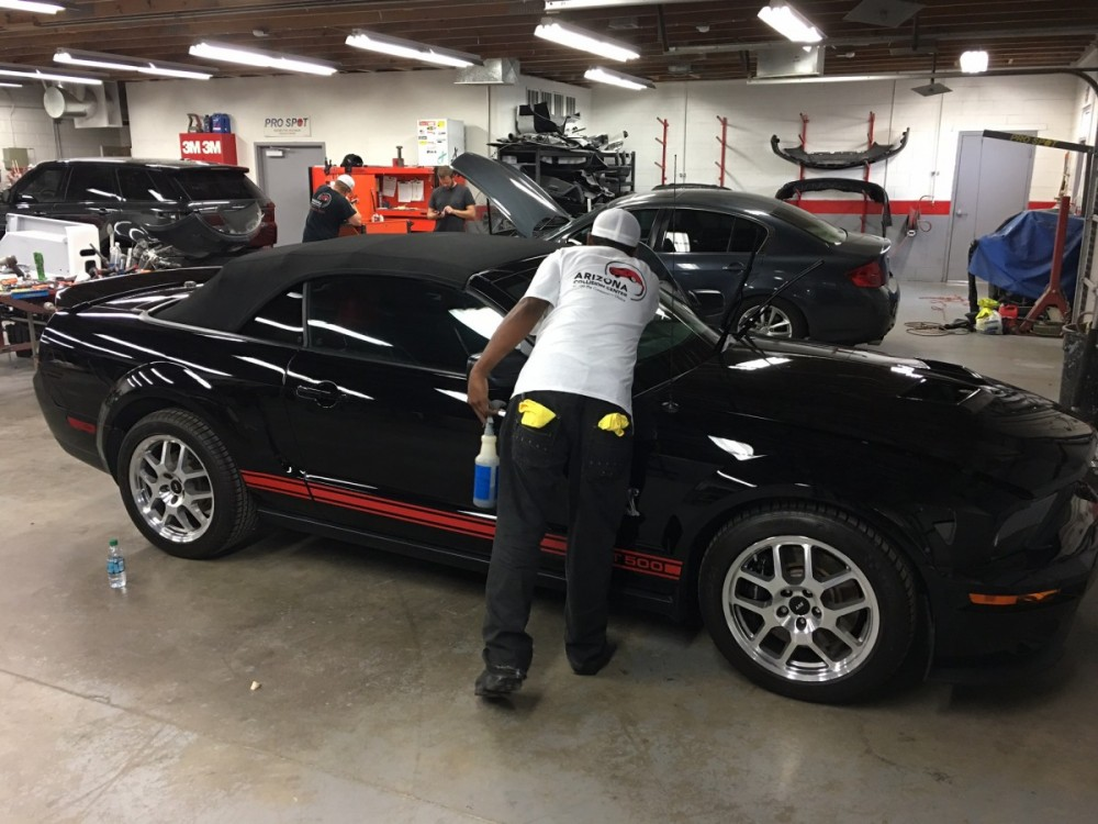 Every repaired vehicle at Arizona Collision Center, gets a wash and collision related detail.  A skilled detailing technician can perform miracles and that is exactly what you will receive at Tempe, AZ, 85281
