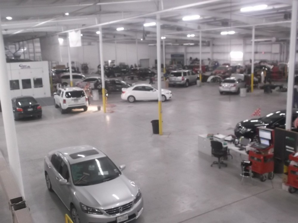 DFW Collision Centers Arlington 4301 Doskocil Drive  Arlington, TX 76017  We are a Large Collision Repair Facility able to handle all of your Collision Repair needs.
