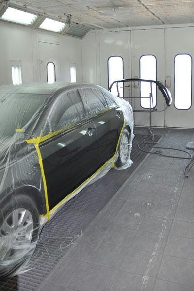 DFW Collision Centers West Grapevine 316 East Dallas Road  Grapevine, TX 76051  Our downdraft spray booth, clean and in the hands of our expert technicians, delivers excellent results.