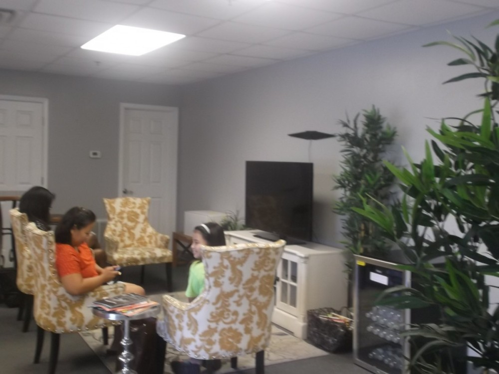 DFW Collision Centers Arlington 4301 Doskocil Drive  Arlington, TX 76017  Our waiting area is a warm & friendly place with refreshments for our guests..