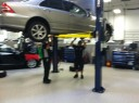 Hendrick Luxury Collision Center 5141 East Independence Blvd  Charlotte, NC 28212  Our Inspection Area & Equipment Allows For A Complete Inspection Of All Collision Related Damages.