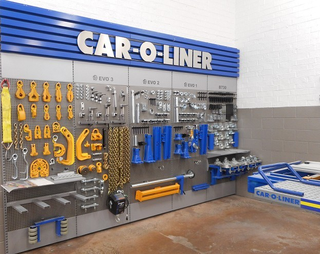Hendrick Collision Center Hickory - Professional vehicle lifting equipment at Hendrick Collision Center Hickory, located at NC, 28603, allows our damage estimators a clear view of all collision related damages.
