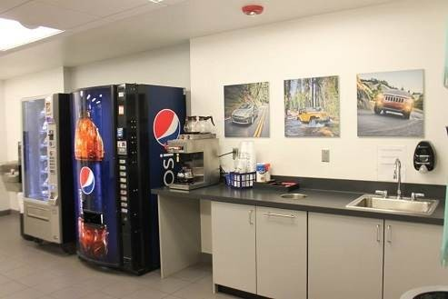 Hendrick Collision Center - Fayetteville 5510 Cliffdale Rd  Fayetteville, NC 28314   A Warm & Inviting Waiting Area for Our Guests With Refreshments......