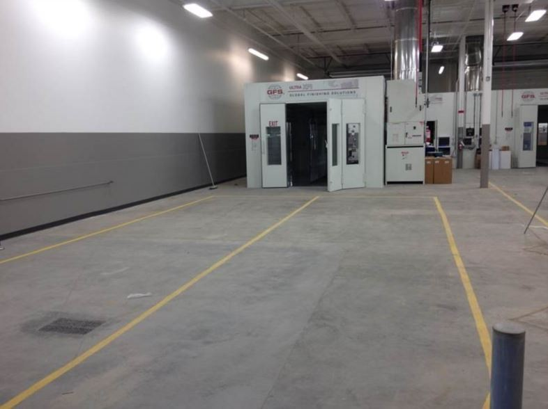 A professional refinished collision repair requires a professional spray booth like what we have here at Hendrick Luxury Collision Center in Charleston, SC, 29407.