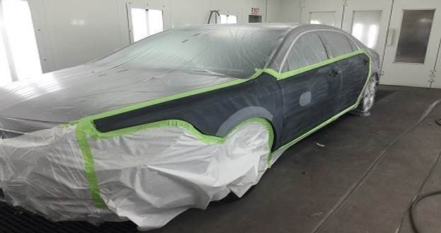 Hendrick Collision Center - Fayetteville 5510 Cliffdale Rd  Fayetteville, NC 28314   A State of the Art Spray Booth & Excellent Preparation is Essential For Delivering a High Quality Product..
