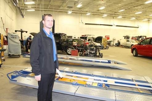 Hendrick Collision Center - Fayetteville 5510 Cliffdale Rd  Fayetteville, NC 28314    World Class Structural Repair Equipment and Experience, Gives Way To A Safe & High Quality Collision Repair.