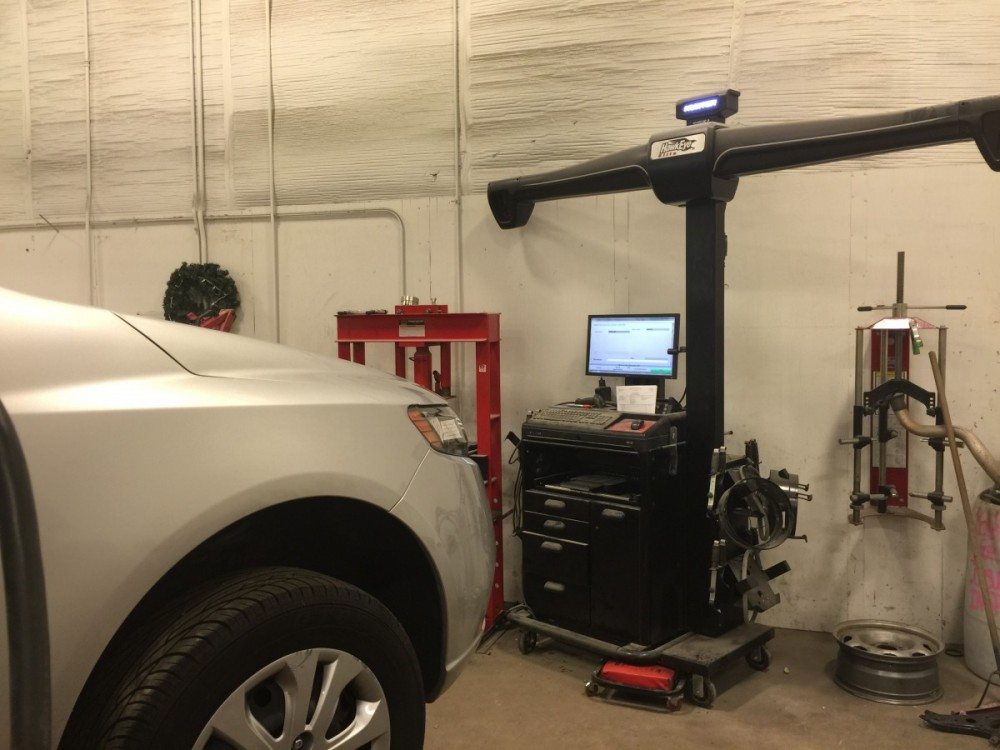 Hendrick Collision Center - Fayetteville 5510 Cliffdale Rd  Fayetteville, NC 28314  State of the Art Alignment Equipment along with Skilled Technicians is what it takes to deliver a Safe & High Quality Repair back to Our Guests...