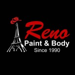 Reno Paint & Body Paris TX 75462 Logo. Reno Paint & Body Auto body and paint. Paris TX collision repair, body shop.