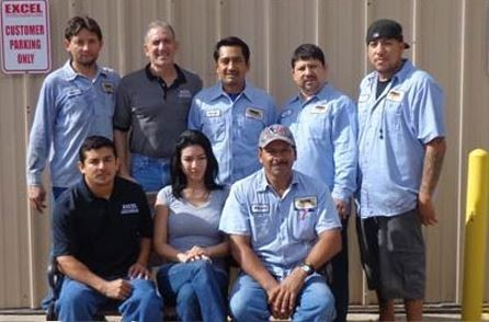 The complete team at Excel Collision Repair Center  the premier auto collision repair center in the Houston, texas area since 1983  is happy to serve you.Expert Collision Repair Facility