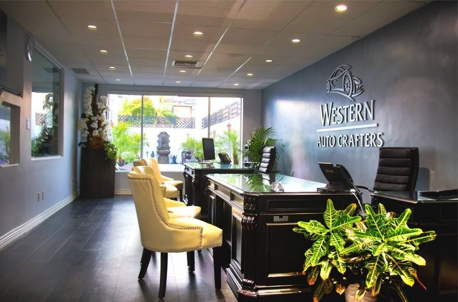 Western Auto Crafters 811 N. Western Ave Los Angeles, CA 90029    Experts in Collision Repairs.  Clean and Comfortable Facility