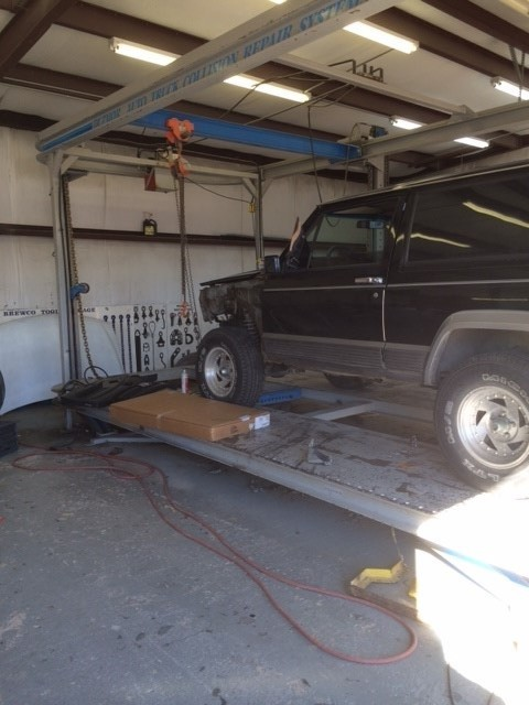 Danny Brown's Paint & Body Shop. Huntsville, TX.  Structure Experts.  Collision Experts
