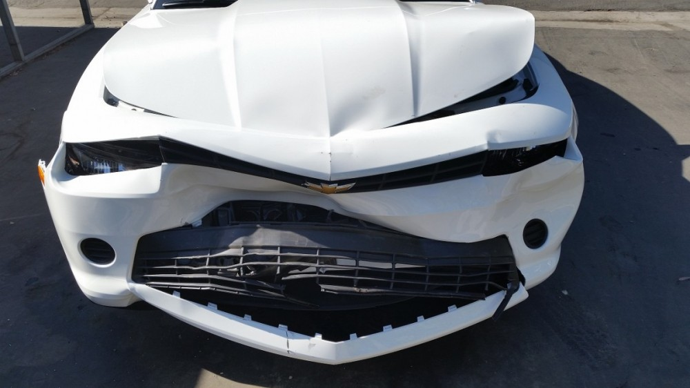 International Auto Crafters Moreno Valley - here is another before picture of our collision repair work in 92553.